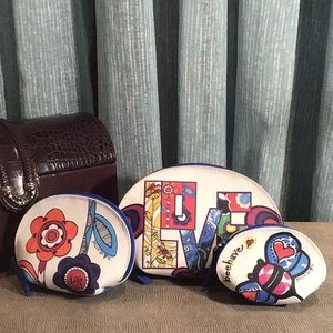 Brighton Love Groove Domed Pouch